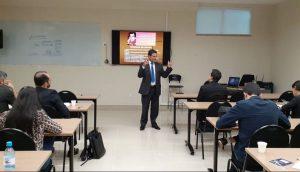O conselheiro Benedito Alves ministrou também o segundo módulo da capacitação na Escon